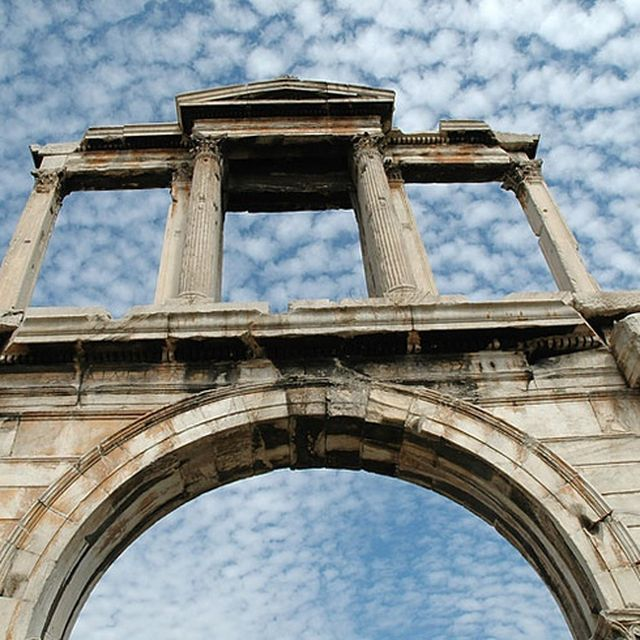 image: hadrian arch - athens by karl