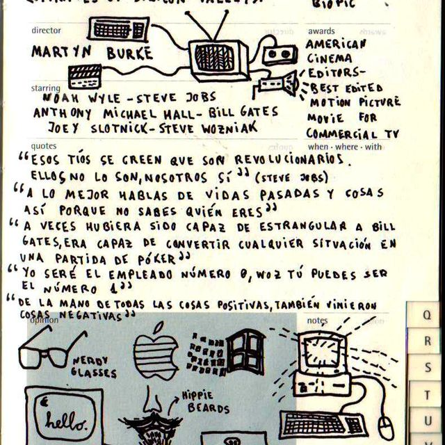 image: Moleskine Film Journal - Pirates of Silicon Valley by catsdontfly