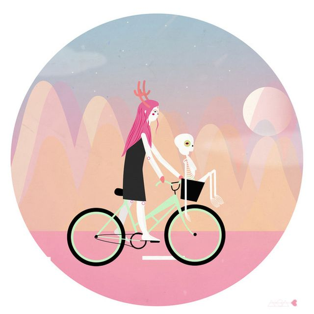 image: Girl on wheels by albablazquez