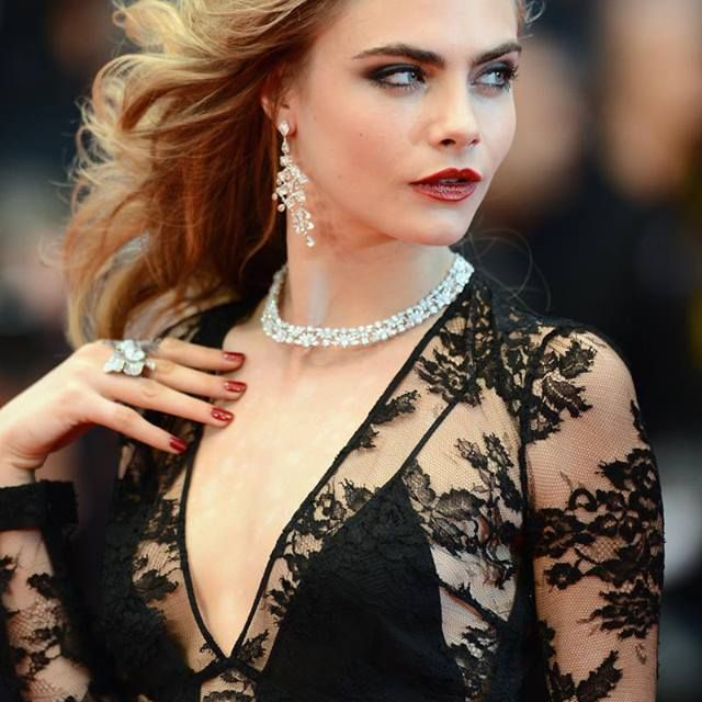 image: Cara at Cannes 2013 by ally_crespo