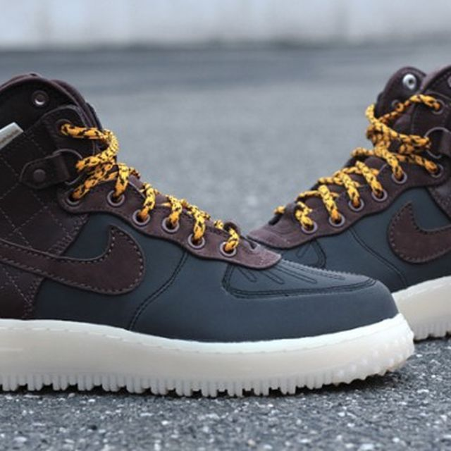 "image: Nike Air Force 1 High Duckboot ""3M"" by andy-rice"