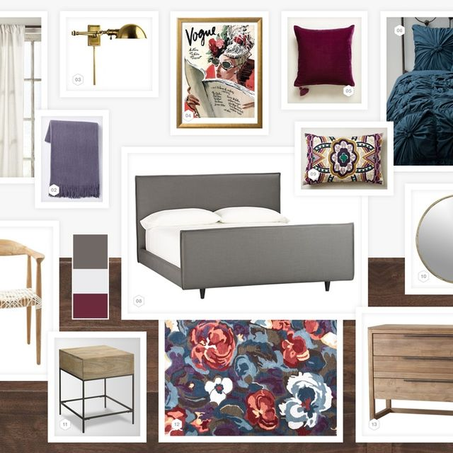image: STELLA, DOT AND KAHLO BEDROOM by annemarie