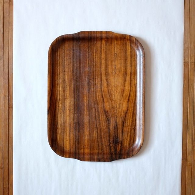 image: In da house / Vintage BACKMAN rosewood tray by pituitaria