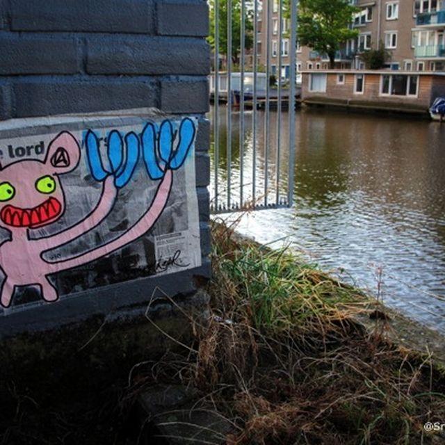 post: Monstruos de neón en Ámsterdam by silviprado