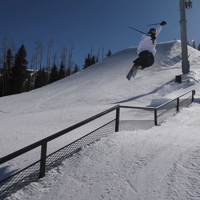image: Back in my fav place ? @aspensnowmass. Clips: @kylerthecreator by torinyw