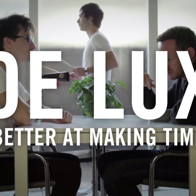 video: De Lux - Better At Making Time by almu