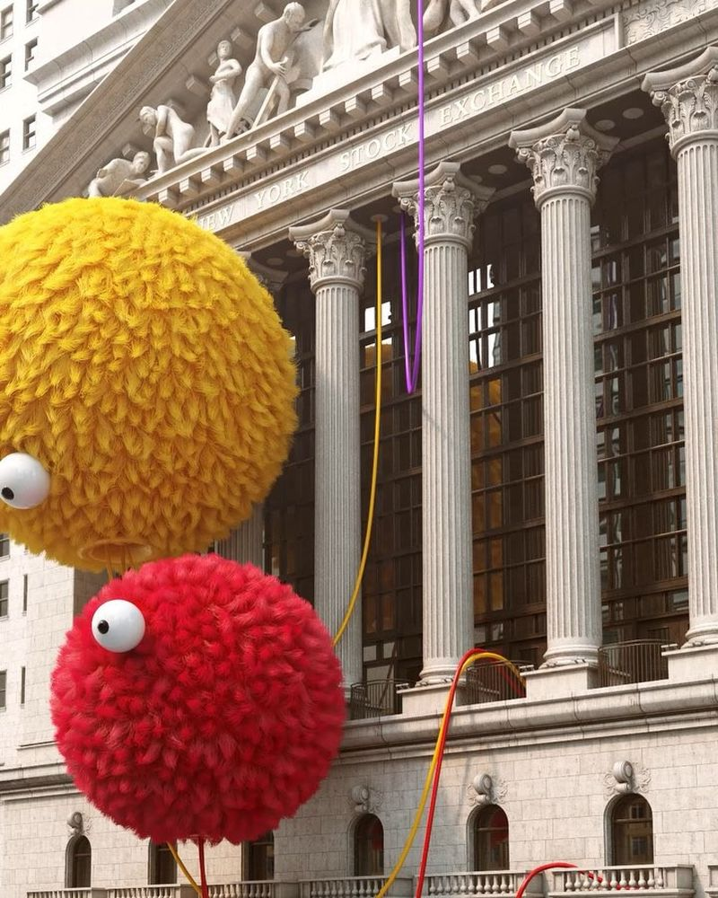 image: Sesame Street VS Wall Street by chrislabrooy