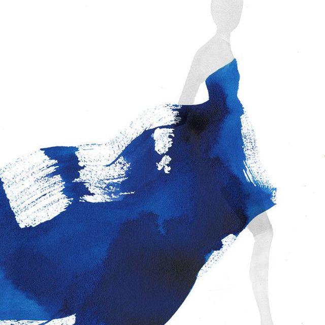 image: Girl in blue by jaqatq