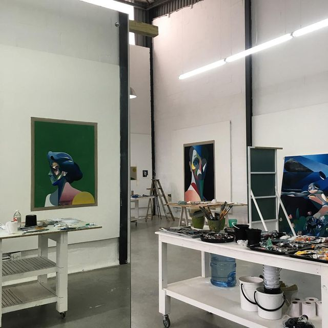image: #newstudio up and running. by ryhew