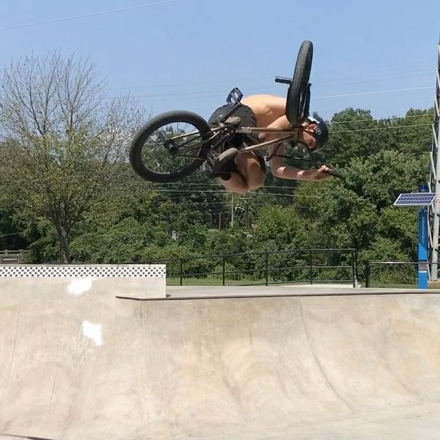 image: Finally made it out to the new park in Greensboro, NC today. Worth the trip ??. ? @tonydavis30. @cultcrew @maderabmx @vansbmx66 @meserollshop by danfoley