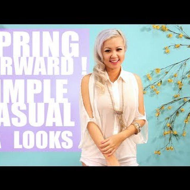 video: Spring Forward! Simple, Casual, CA Inspired Looks by ckelyknickknack