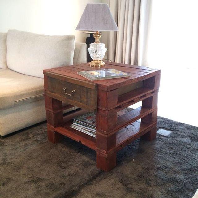 """image: Mesa """"Side Table"""" by laparihuela"""