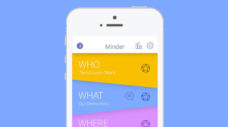 image: New startup : Minder Controls Your Content Location ... by greedygop