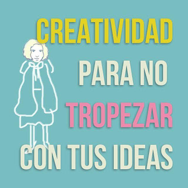 post: Creatividad para no tropezar con tus ideas by taniaaristi