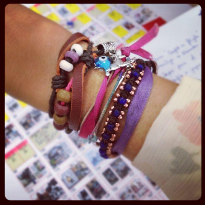 image: A city, a bracelet by erikanavarlaz