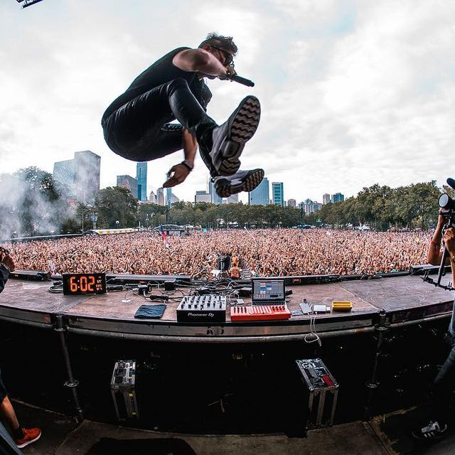 image: Day 2 @lollapalooza x @3lau by chrisyoder