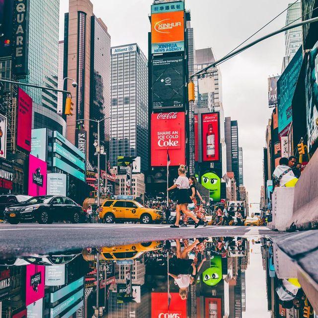 image: NYC upside-down  by yayitsyanan