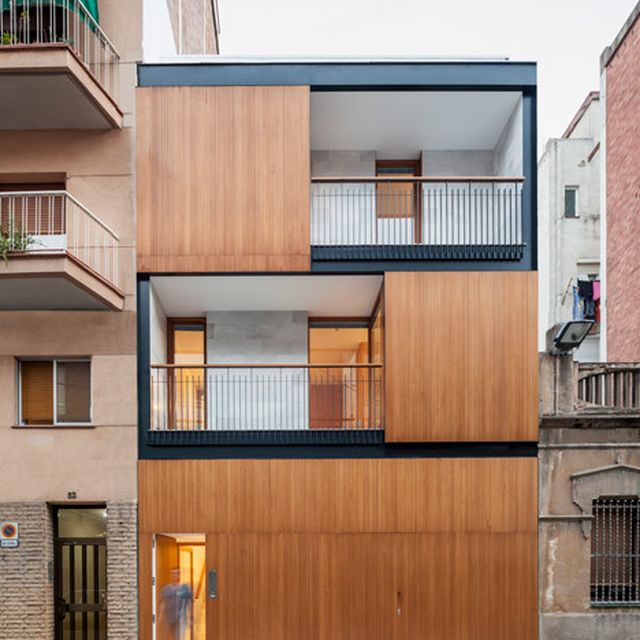 image: Alventosa Morell slots a four-storey house between t... by hallowedbronze