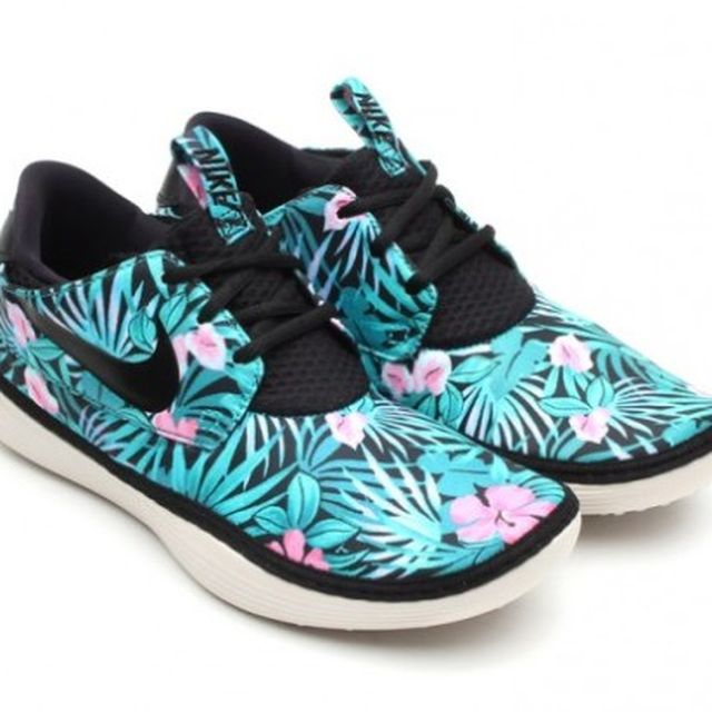 """image: Nike Solarsoft Moccasin """"Flower Print"""" by aidahulton"""