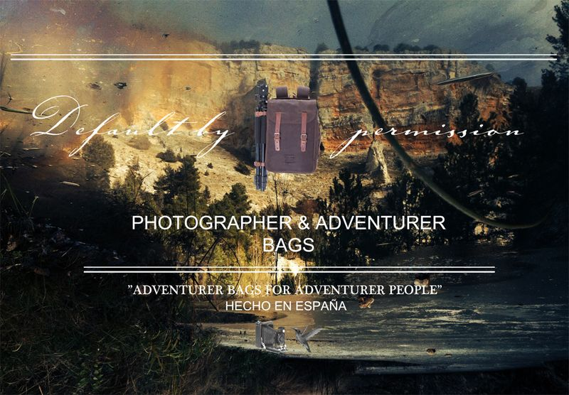 image: DEFAULT BY PERMISSION CAMERA BAGS by defaultbypermission