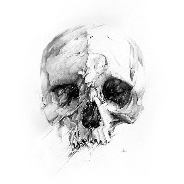 image: skull by art_seeker