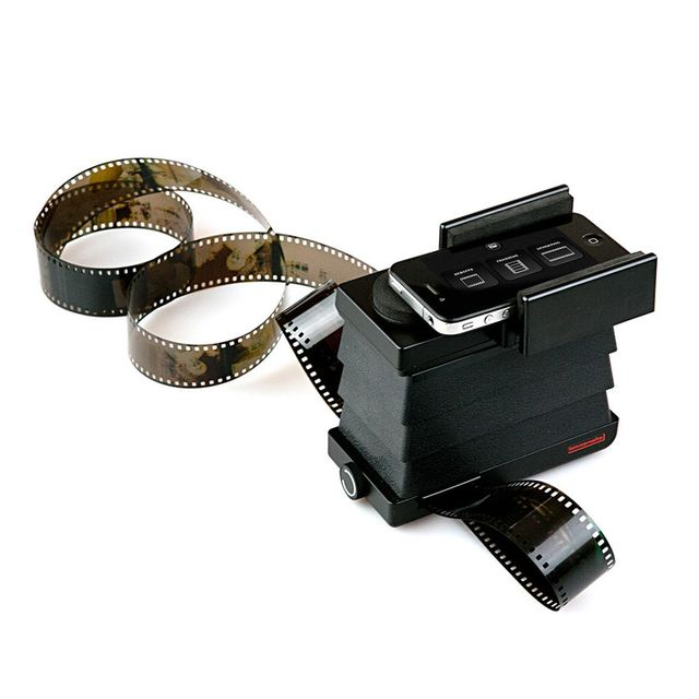 image: Smartphone film scanner / Lomography by somewhereiwouldliketolive