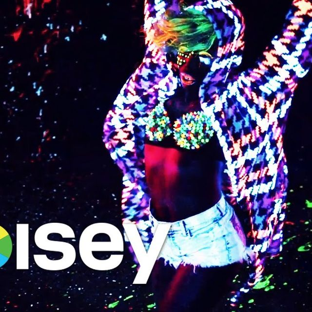 "video: Major Lazer ft. Laidback Luke & Ms. Dynamite - ""Sweat"" by albertopasarin"