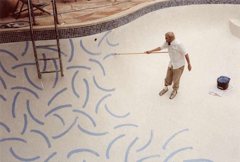 image: Hockney pools by arroyo