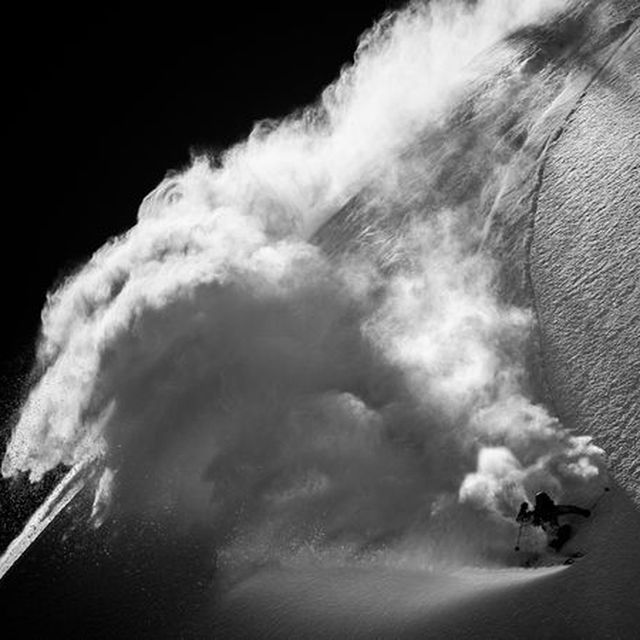 image: BACKCOUNTRY SKIING IN SWITZERLAND by luciaode