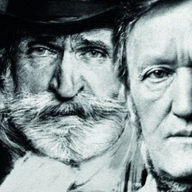image: Verdi y Wagner by rosabcn