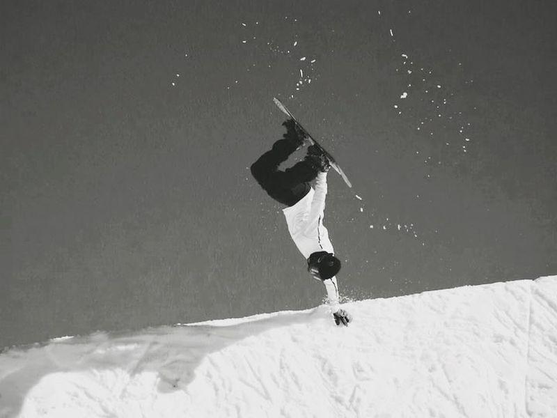 image: testing the snow  by stalesandbech