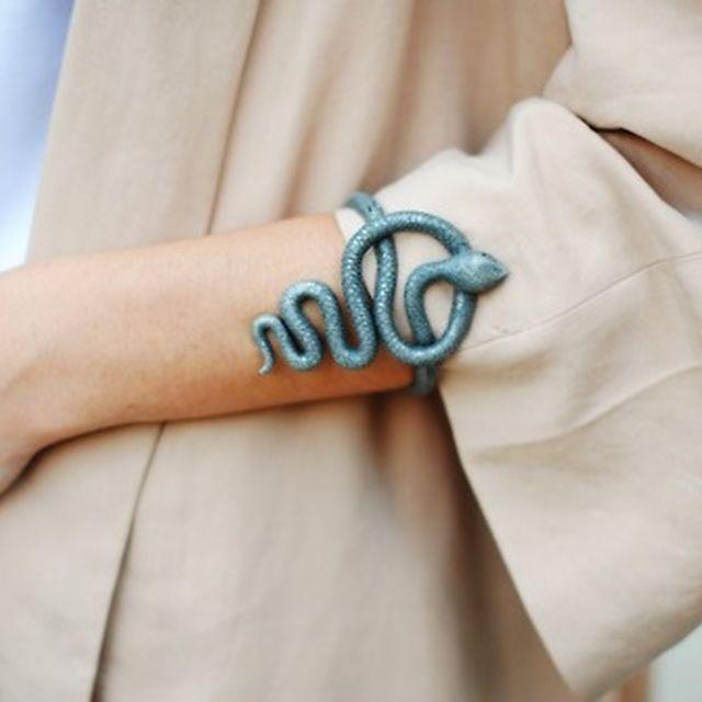 image: snake bracelet by arroyo