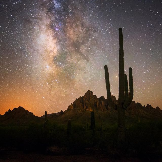 image: I truly love our skies here in Tucson, Arizona. Where is your favorite place to stargaze? by seanparkerphotography