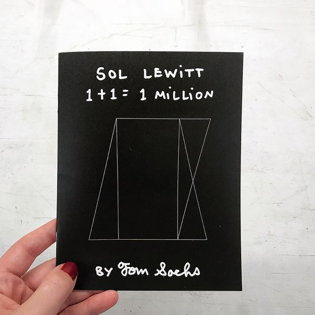 image: ST.MORITZCome to the opening of the SOL LEWITT show I curated @vitoschnabelgallery 6-8pm. Via Maistra 37, 7500. San Maurizio, Switzerland. New zine available on website.On view through March 11. by tomsachs
