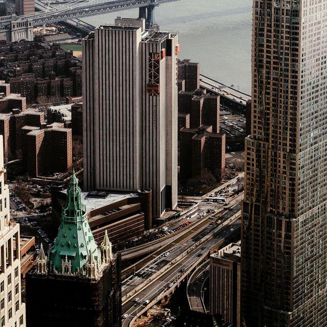 image: Manhattan from One World Observatory by jongrado