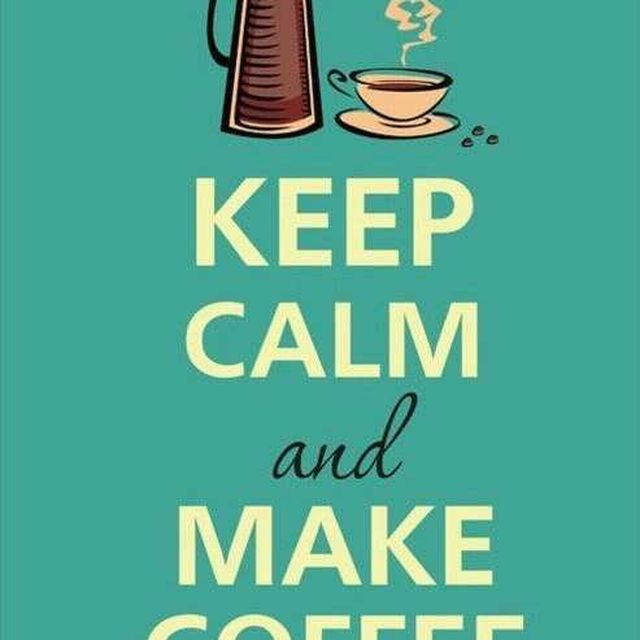 image: Keep calm and make a coffee by noni