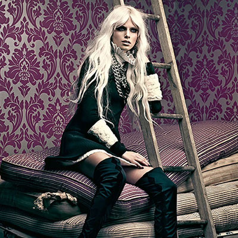 image: Pamela Bernier is Fairy Tale Chic for Fashion Spread by fashionnet