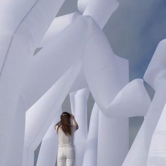 """image: @snarkitecture ? """"Making Architecture do things it's not supposed to do"""" since... by danielarsham"""