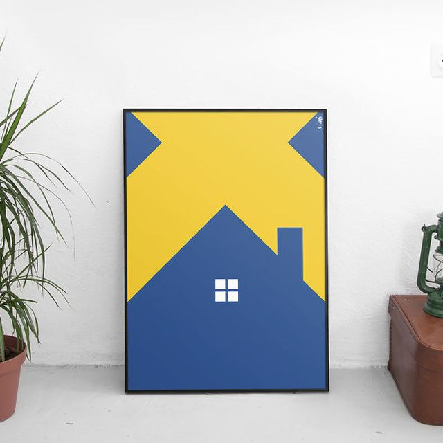 image: Flags Become Houses by jenniferasos
