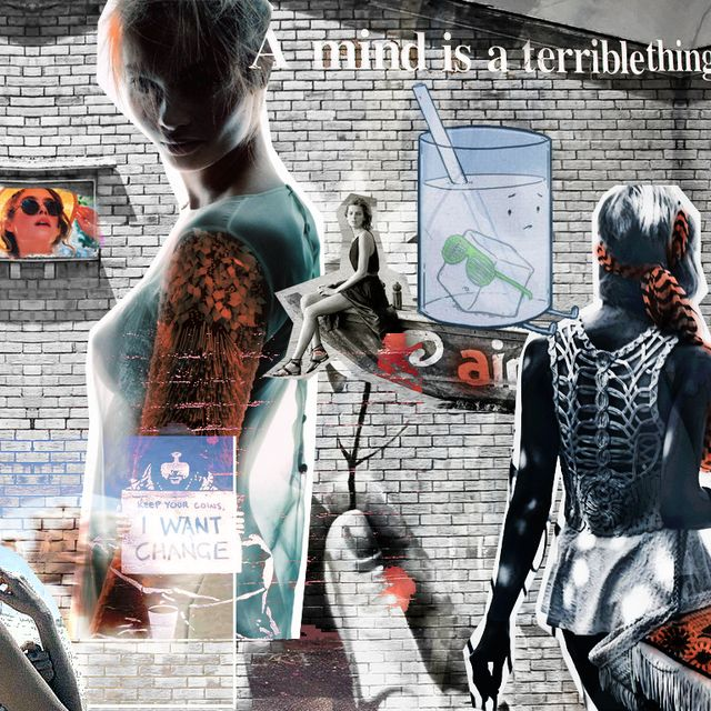 image: a mind is a terrible thing to waste by labananaana