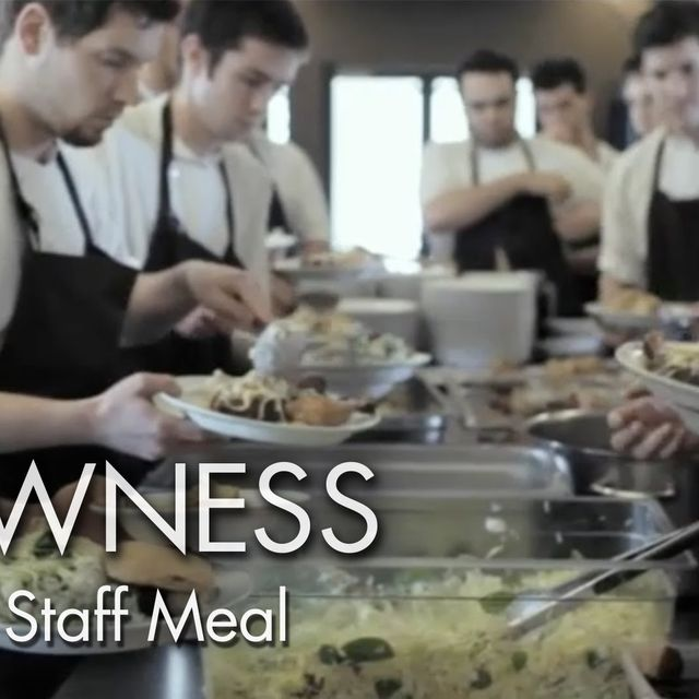 video: GASTRONOMY. NOMA STAFF MEAL by luciaode