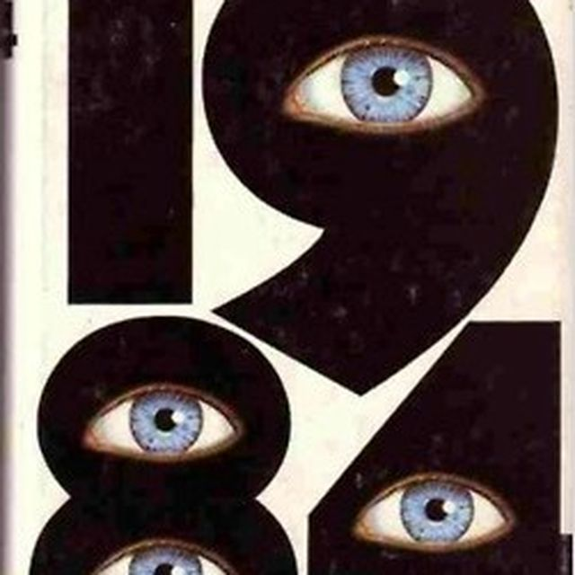 image: George Orwell by alevale