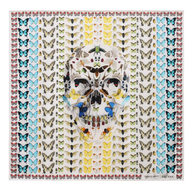 image: DAMIEN HIRST & ALEXANDER MCQUEEN COLLABORATION by campbell