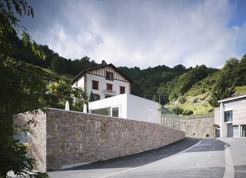 image: Mining museum by V2S contrasts a traditional stone w... by waryamaranth