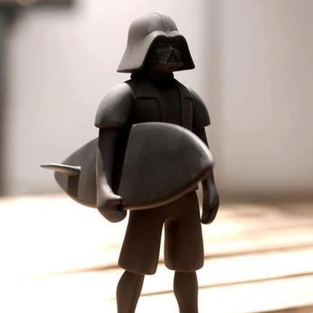 image: Surf Vader by dr-drake