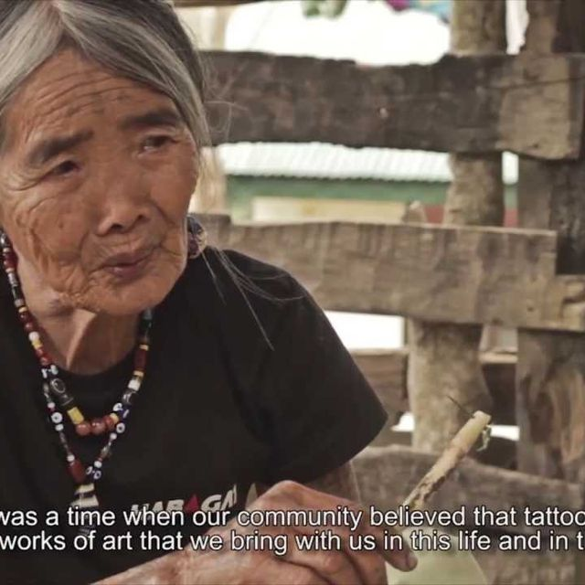 video: Kalinga Tradition - covered in ink by feibs