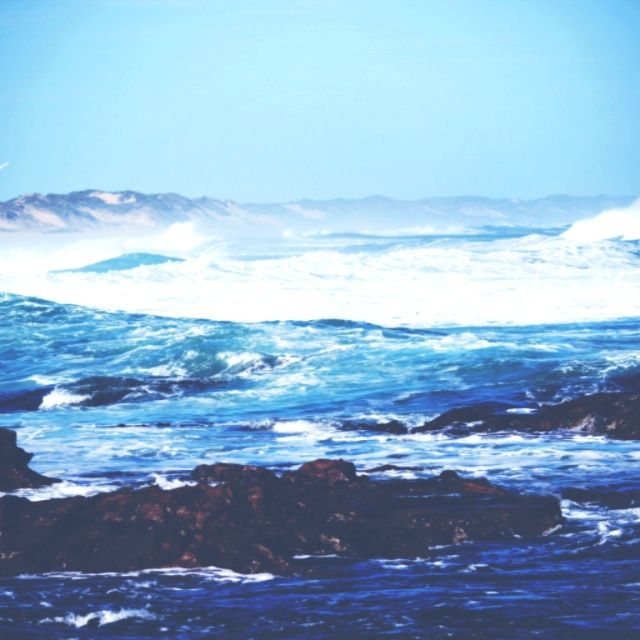 image: ocean storm by mitty