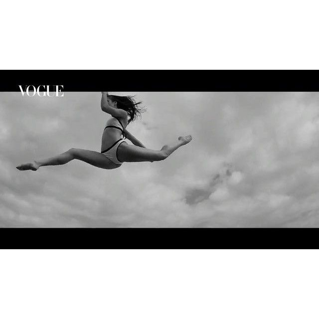 video: Moments in the sky with @voguespain wearing @oysho & @m by maria_pedraza