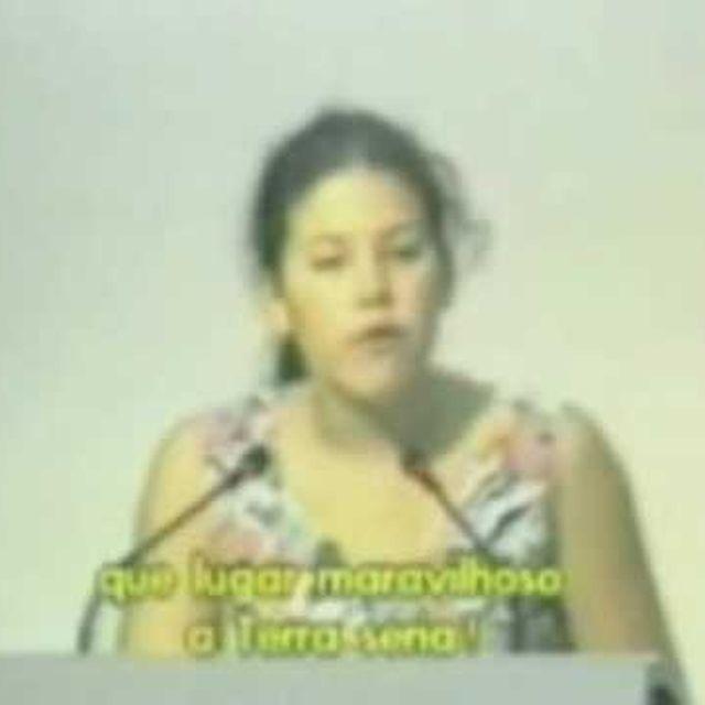 video: Severn Suzuki. SILENCIÓ al mundo durante 6:32 minutos. by aysa9