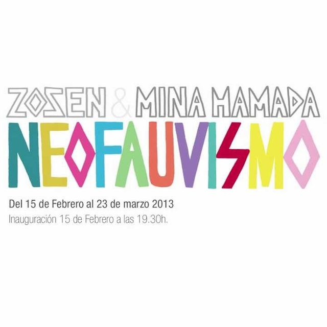 video: 'Neofauvismo', Zosen y Mina Hamada - iam Gallery by iam